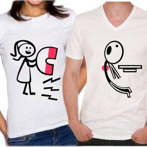 Camisetas para parejas-iman
