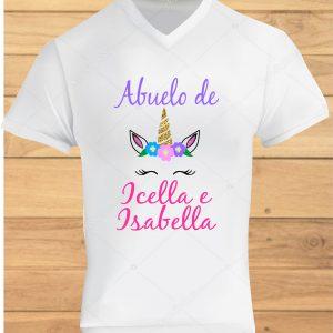 camisetas de cumpleaños unicornio