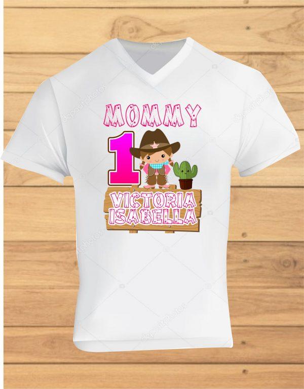 camisetas de cumpleaños vaquera
