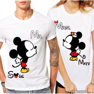 camisetas para parejas Mr