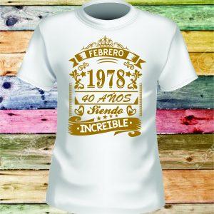 Camisetas personalizadas 14