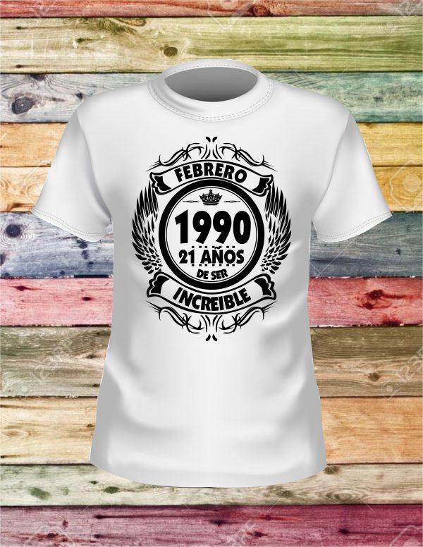 Camisetas personalizadas 20