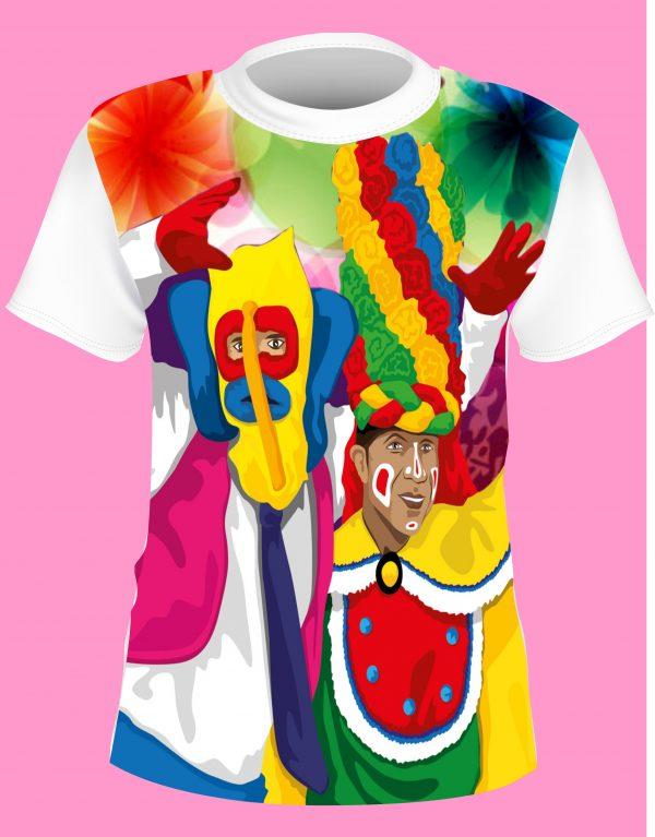 camisa de carnaval marimonda