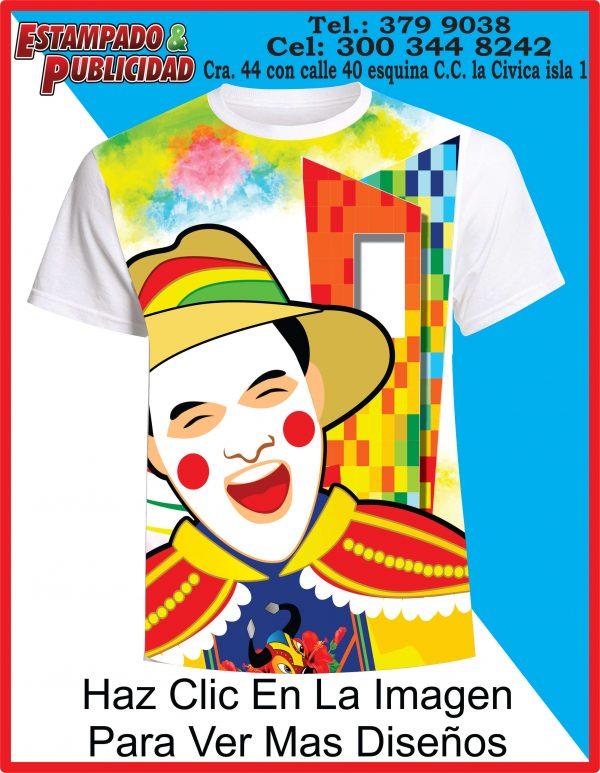 Camisetas de Carnaval 2019 ventana al mundo 2