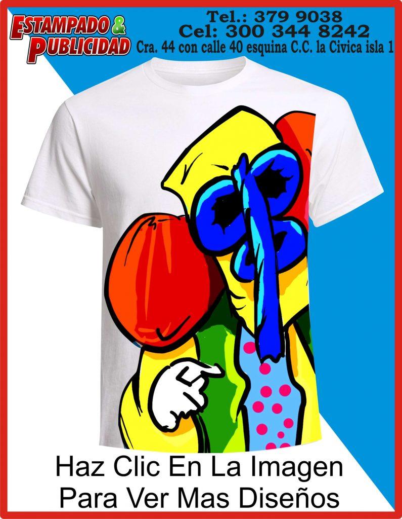 camisetas de carnaval pintadas a mano