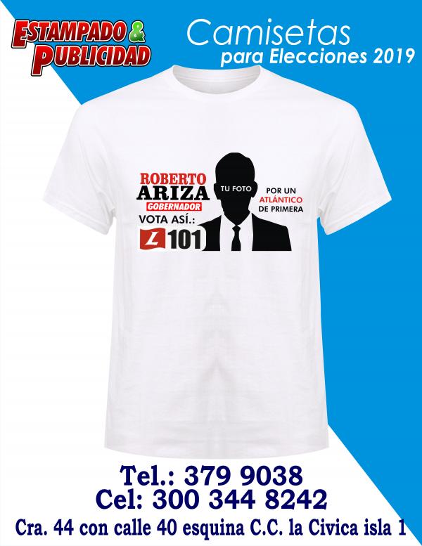 camisetas para campañas politicas 1