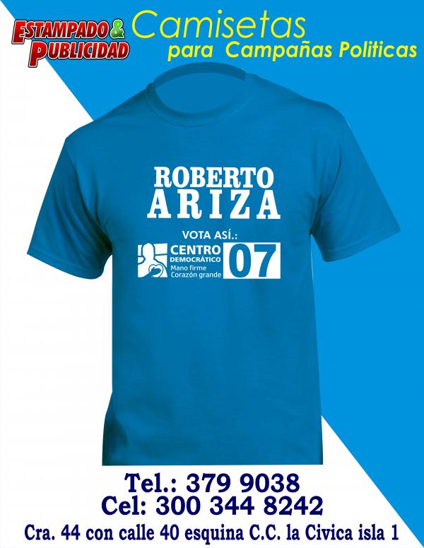 camisetas para campañas politicas 4