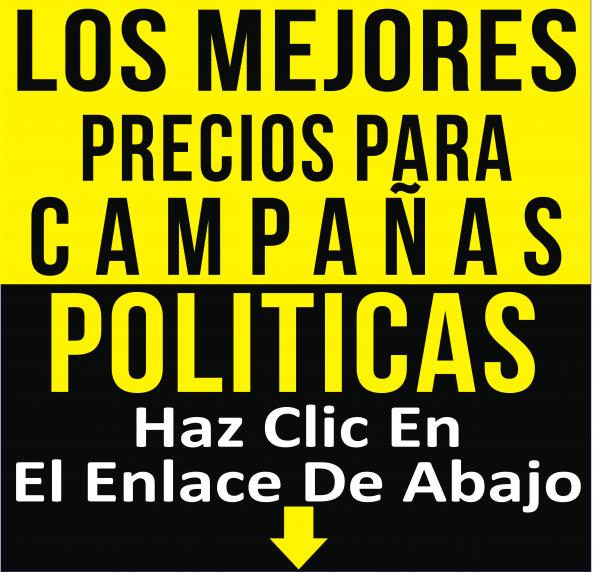 camisetas economicas para campañas politicas 2